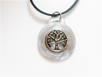 Tree of Life Washer Necklace