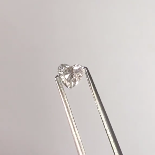 Heart shaped diamond chastity shop