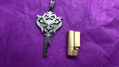 Silver Le Baroque chastity key