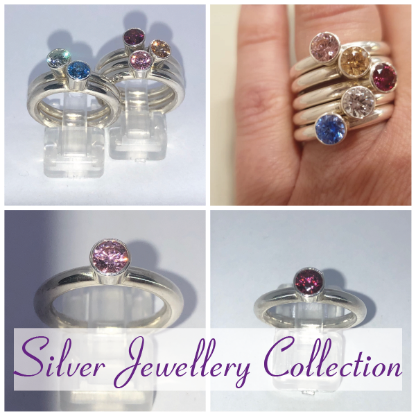 Silver handmade jewellery collection
