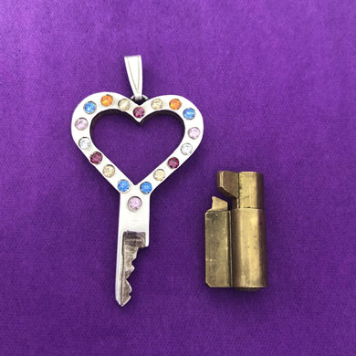 chastity-shop Keys with cylinder lock Colour your Life with cylinder