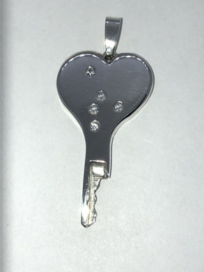 chastity-shop Keys with cylinder lock Lock of Love with cylinder