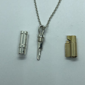 chastity-shop Keys with cylinder lock Message in a bottle