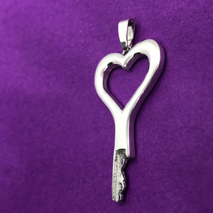 chastity-shop Keys with cylinder lock Open your Heart