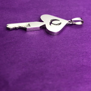 chastity-shop Keys with cylinder lock Queen of Spades