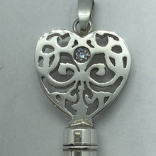 Load image into Gallery viewer, chastity-shop Keys with cylinder lock Secret Lady Grace with diamonds