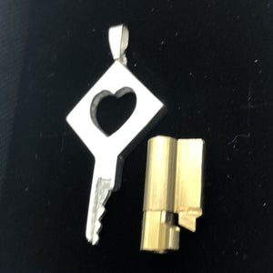 chastity-shop Keys with cylinder lock The Romeo