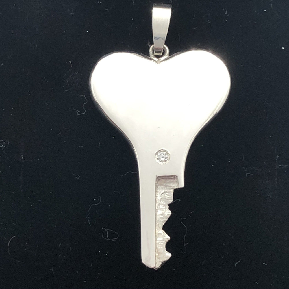 chastity-shop Keys with padlock The Heart Shaped with padlock