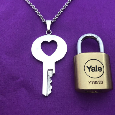 chastity-shop Keys with padlock The Juliette with padlock