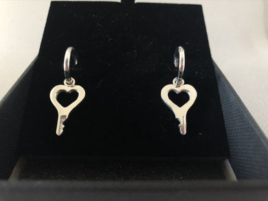 chastity-shop Open your Heart earrings