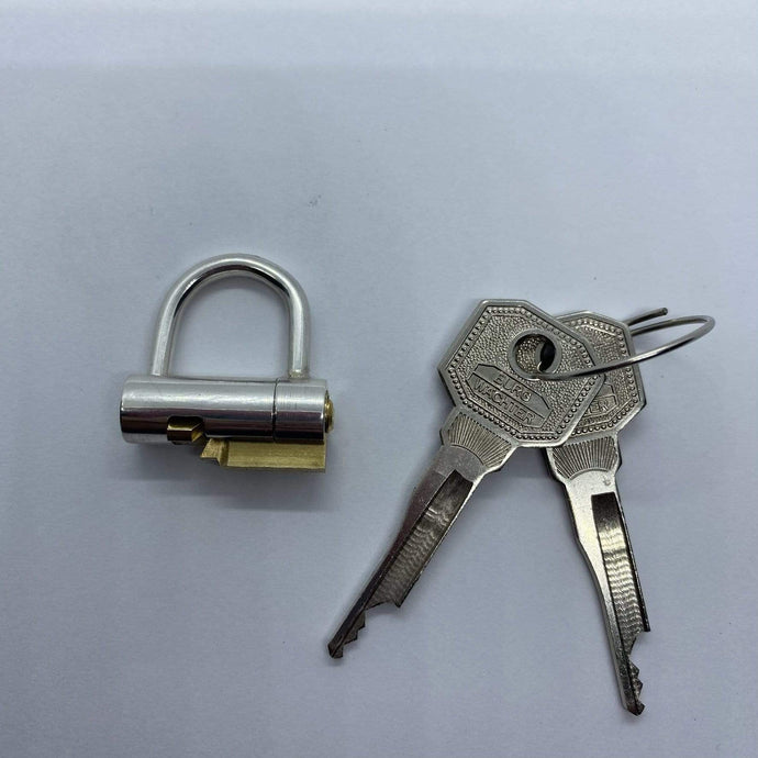 chastity-shop Silver PA lock with cylinder