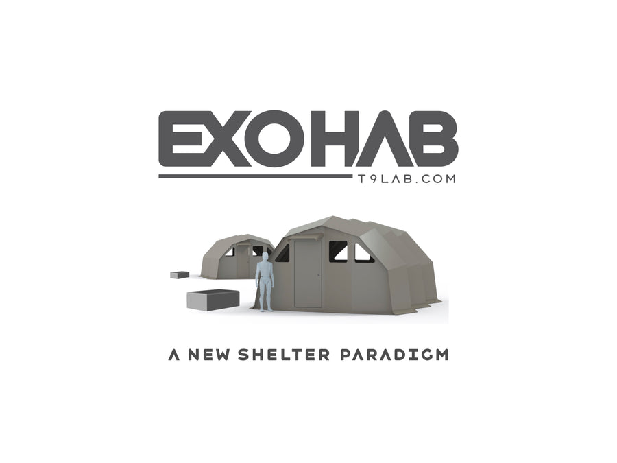 EXOHAB Advanced Manufacturing Shelter