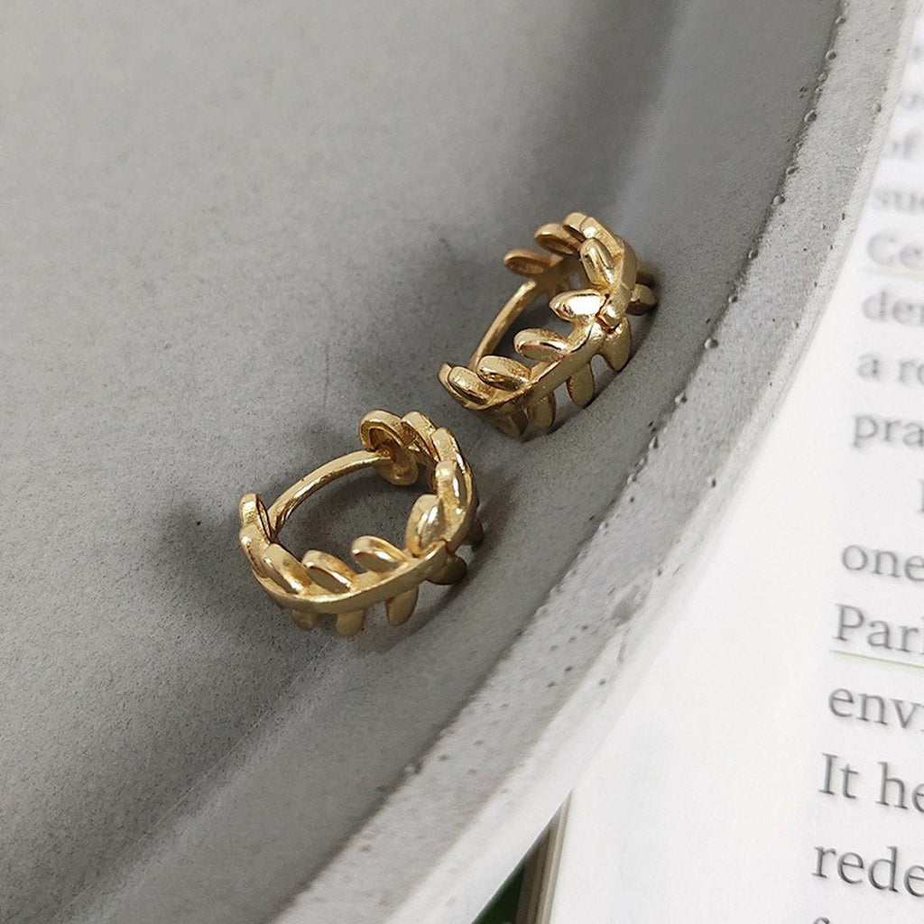 14K Gold Tiny Huggie Hoop Earrings, EB1 Earrings i_did 2 earrings (2 ears)