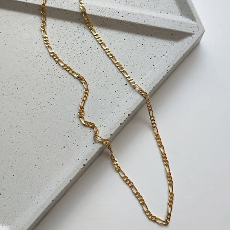 Dainty 14K Gold Chain Choker Necklace, EB35 Necklaces i_did