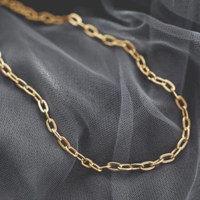 Thick 18K Gold Chain Necklace, EB24 Necklaces i_did