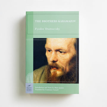 The Brothers Karamazov (Barnes and Noble Trade) by Fyodor Dostoevsky, Barnes and Noble Books, Trade Softcover from A GOOD USED BOOK.  2004 28th Printing Classics