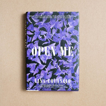 Open Me by Lisa Locascio, Grove Press, Hardcover w/o Dust Jacket from A GOOD USED BOOK.