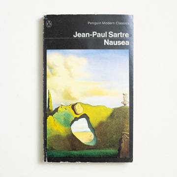 Nausea by Jean-Paul Sartre, Penguin Books, Paperback from A GOOD USED BOOK.  1965 No Stated Printing Literature