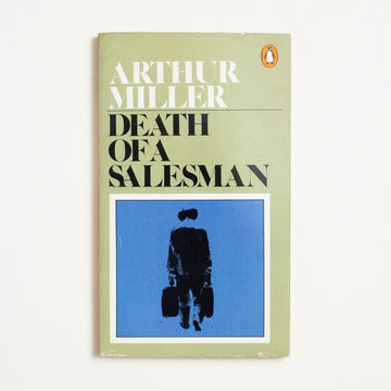 Death of a Salesman by Arthur Miller, Penguin Books, Paperback from A GOOD USED BOOK. A Pulitzer Prize winner, a Tony Award  winner, and an enduring portrait of the  inadequacy of the American Dream.  1981 No Stated Printing Literature