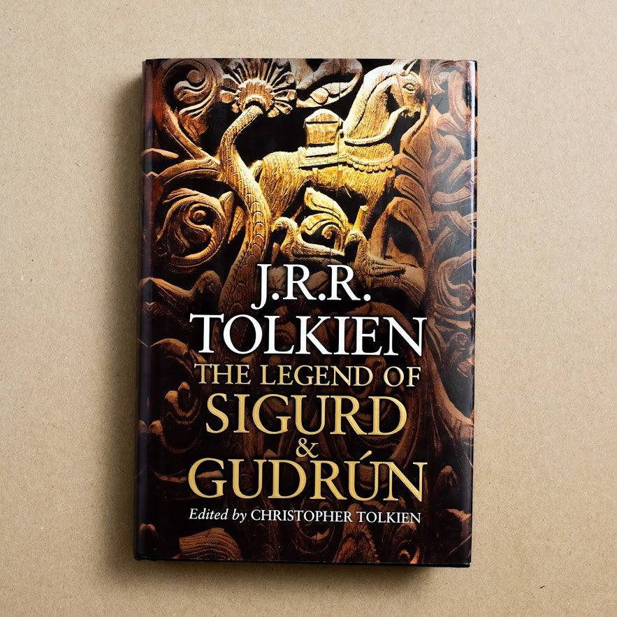 The Legend of the Sigurd & Gudrun by J.R.R. Tolkien, Houghton Mifflin, Hardcover w. Dust Jacket from A GOOD USED BOOK.