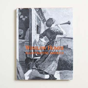 Illustrating America by Winslow Homer, Brooklyn Museum of Art, Large Hardcover w. Dust Jacket from A GOOD USED BOOK. Winslow Homer, an early freelance illustrator,  never missed a moment: from Massachusetts  to California, New York City to New England.  2000 1st Edition Culture
