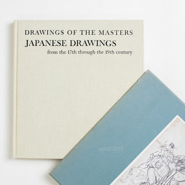 Drawings of the Masters: Japanese Drawings from the 17th through the 19th century by J.R. Hillier, Shorewood Publishers, Large Hardcover w. Slipcase from A GOOD USED BOOK.  1965 No Stated Printing Art