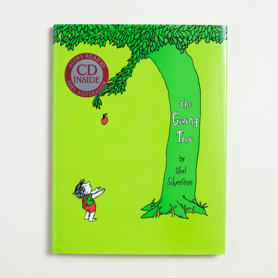 The Giving Tree by Shel Silverstein, HarperCollins, Large Hardcover w/o Dust Jacket from A GOOD USED BOOK.  1992 84th Printing Genre Fiction