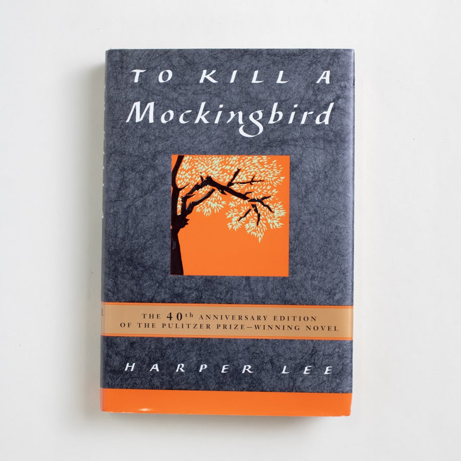 To Kill a Mockingbird (40th Anniversary Edition) by Harper Lee, HarperCollins, Hardcover w. Dust Jacket from A GOOD USED BOOK.  1999 31st Printing Classics