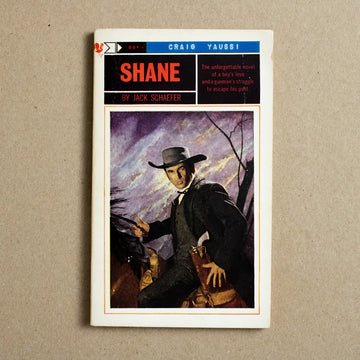 Shane by Jack Shaffer, Bantam Books, Paperback from A GOOD USED BOOK.