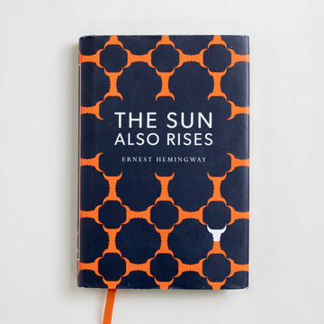 The Sun Also Rises (Indigo Library) by Ernest Hemingway, Indigo Library, Hardcover w. Dust Jacket from A GOOD USED BOOK. Grace Hemingway, Hemingway's mother, hated this book. Me? I would list it in her son's top three. 2014 1st Printing Literature