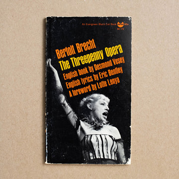 The Threepenny Opera by Bertolt Brecht, Grove Press Black Cat Edition, Paperback from A GOOD USED BOOK.