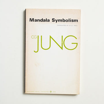 Mandala Symbolism by C.G. Jung, Princeton University Press, Trade Softcover from A GOOD USED BOOK. Jung painted his first mandala in 1916,  but silently collected his philosophies and  histories for years after. A work of art and psychology, dance and spirituality.  1973 3rd Printing Culture