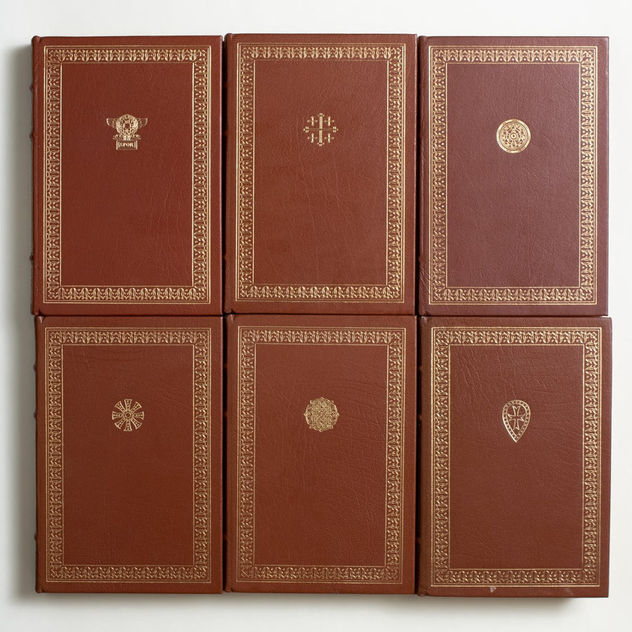 The Decline and Fall of the Roman Empire (6-Volume) by Edward Gibbon
