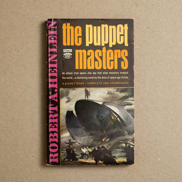 The Puppet Masters by Robert Heinlein, Signet Books, Paperback from A GOOD USED BOOK.