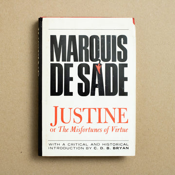 Justine, or the Misfortunes of Virtue by Marquis de Sade, Bell Publishing Company, Hardcover w. Dust Jacket from A GOOD USED BOOK.