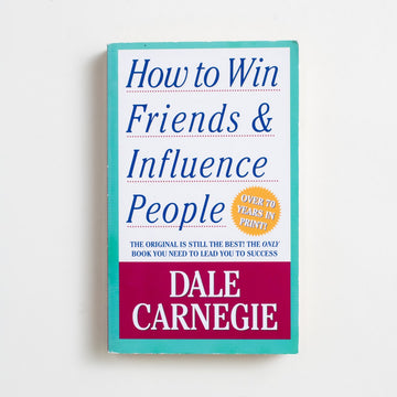 How to Win Friends & Influence People by Dale Carnegie, Pocket Books, Paperback from A GOOD USED BOOK.  1982 66th Printing Reference