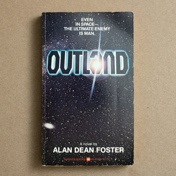 Outland by Alan Dean Foster, Warner Books, Paperback from A GOOD USED BOOK.