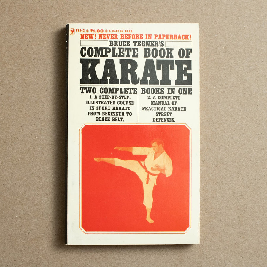 Complete Book of Karate by Bruce Tegner, Bantam Books, Paperback from A GOOD USED BOOK.