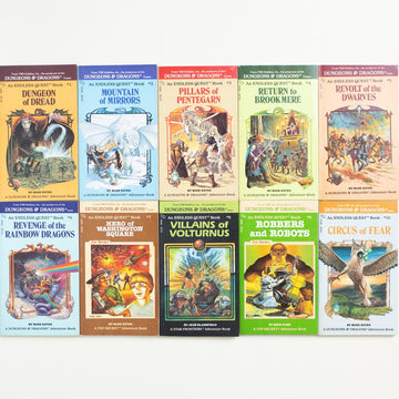 Dungeons & Dragons: An Endless Quest 10-Book Set by Various Authors , TSR Hobbies, Paperback Set from A GOOD USED BOOK. Maybe you've been playing Dungeons and  Dragons for years. Maybe the first you heard of it was on