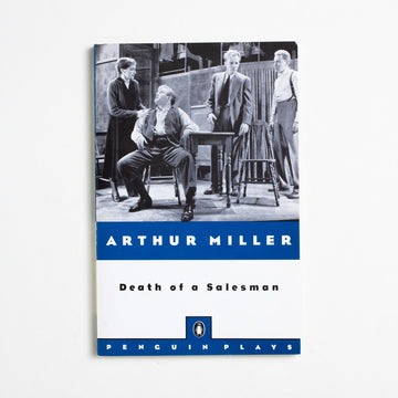 Death of a Salesman (Trade) by Arthur Miller, Penguin Plays, Trade Softcover from A GOOD USED BOOK.  1976 50th Printing Literature