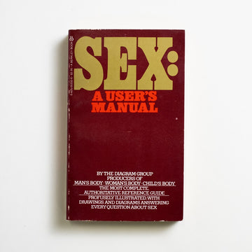 Sex: A User's Manual by The Diagram Group , Berkley Books, Paperback from A GOOD USED BOOK.