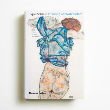 Drawings & Watercolors by Egon Schiele, Thames and Hudson, Large Hardcover from A GOOD USED BOOK. A protege of Gustav Klimt, Schiele's works were  grotesque, erotic, and immensely successful  in his lifetime. In 1918, however, he lost his life  to the Spanish flu - then a mere 28 years old. 2003 No Stated Printing Art