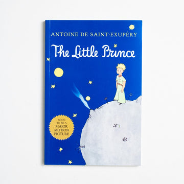 The Little Prince (Trade) by Antoine de Saint Exupery, Mariner Books, Trade Softcover from A GOOD USED BOOK. Originally banned in France, along with all of  Saint-Exupery's other works,