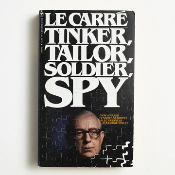Tinker, Tailor, Solder, Spy by Le Carre, Bantam Books, Paperback from A GOOD USED BOOK.  1980 15th Printing Genre TV Tie-In, Thriller