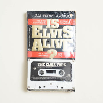 Is Elvis Alive? by Gail Brewer-Giorgio, Tudor Publishing Company, Paperback w. Cassette Tape from A GOOD USED BOOK.