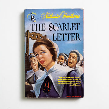 "The Scarlet Letter (Pocket) by Nathaniel Hawthorne, Pocket Books, Paperback from A GOOD USED BOOK. ""If truth were everywhere to be shown, a scarlet  letter would blaze forth on many a bosom..."" - Nathaniel Hawthorne 1948 1st Printing Classics"