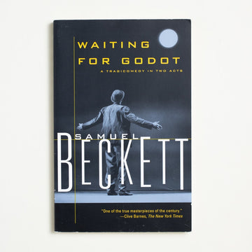 Waiting for Godot by Samuel Beckett, Grove Press, Trade Softcover from A GOOD USED BOOK. Two men, out on an empty road, are waiting for a  fellow named Godot... and so goes the famous play. 2000 8th Printing Literature