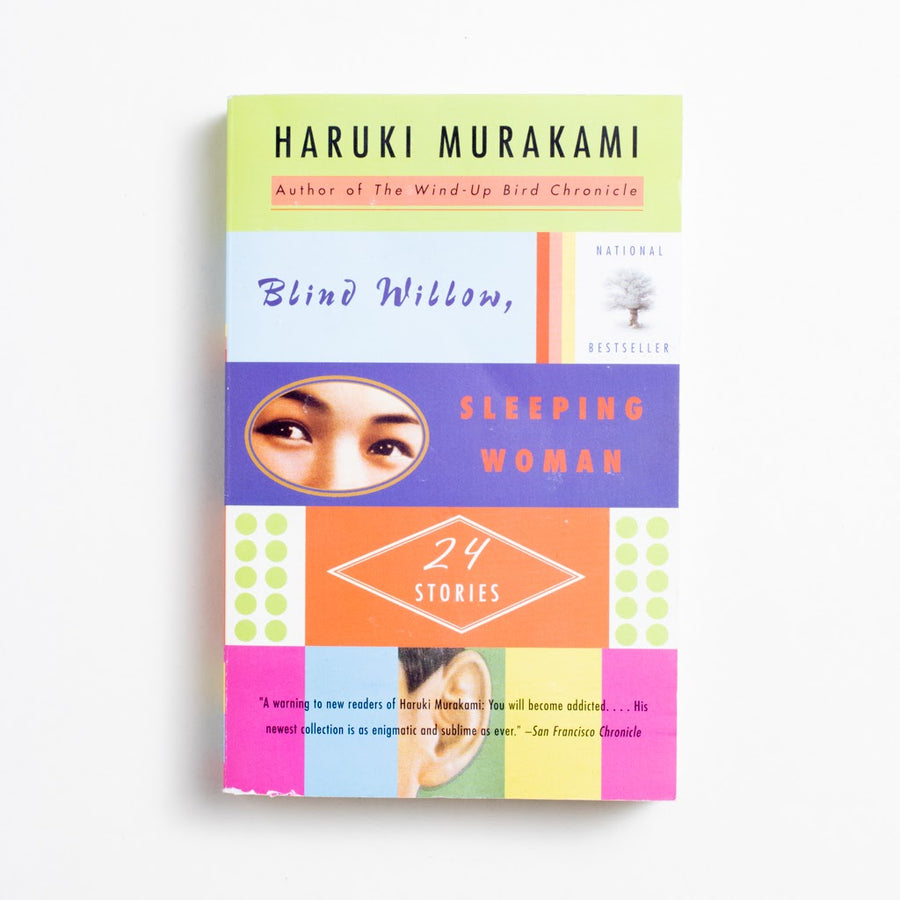 Blind Willow, Sleeping Woman by Haruki Murakami, Vintage Books, Trade Softcover from A GOOD USED BOOK.  2006 11th Printing Literature Japanese Literature