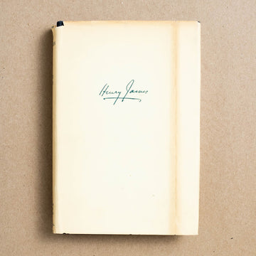 Henry James by Henry James, Riverside Press, Small Hardcover w. Dust Jacket from A GOOD USED BOOK.