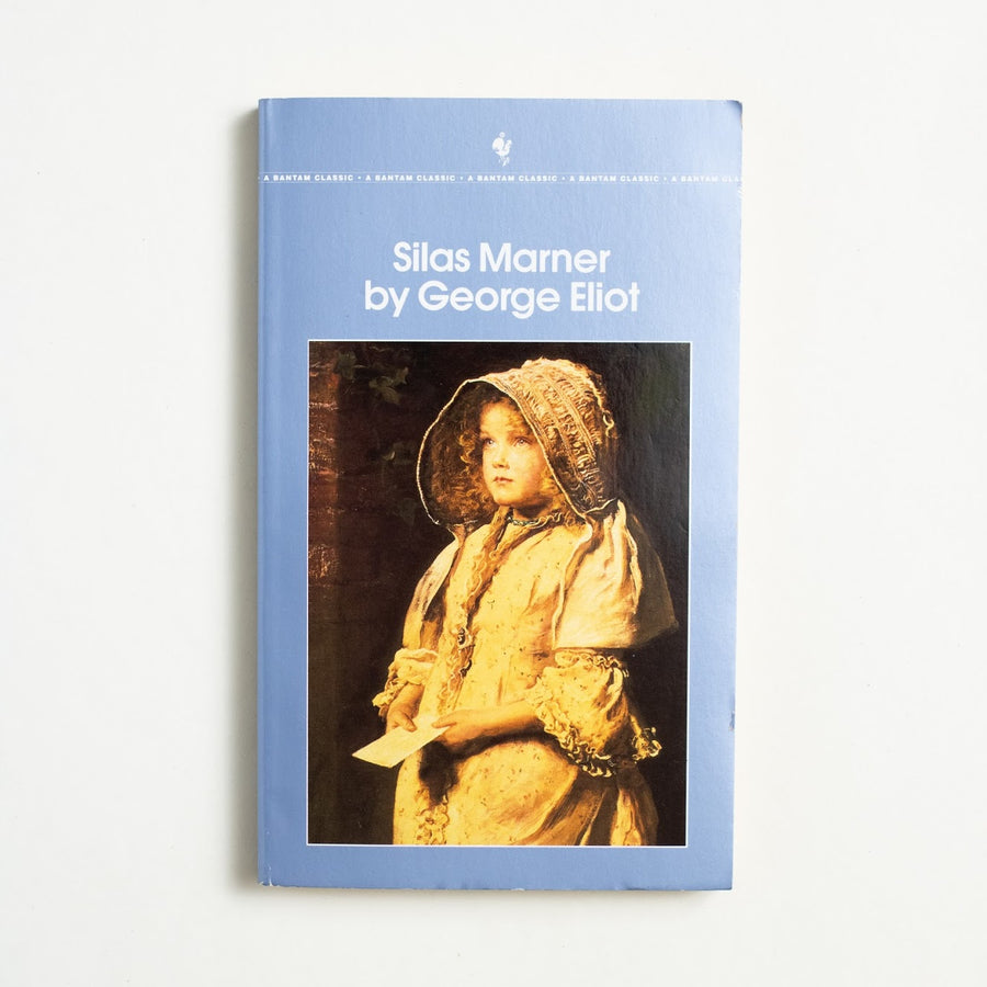 Silas Marner by George Eliot, Bantam Books, Paperback from A GOOD USED BOOK.  1992 27th Printing Classics